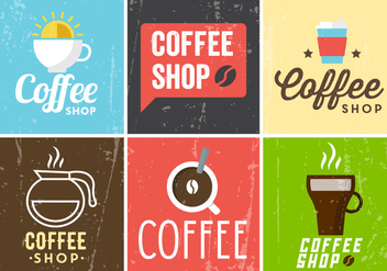 Free Coffee Templates - бесплатный vector #377885