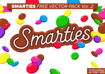 Smarties Free Vector Pack Vol. 2 - Free vector #377895
