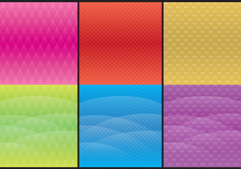 Colorful Degrade Backgrounds - Free vector #378135