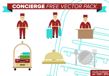 Concierge Free Vector Pack - Kostenloses vector #378235