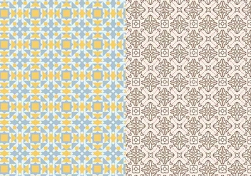 Ornamental Mosaic Pattern - Free vector #378375