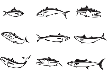 Free Mackerel Vectors - бесплатный vector #378415