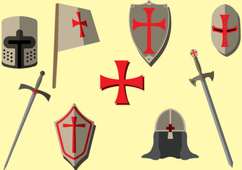 FREE TEMPLAR ICONS - Free vector #378425