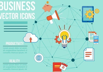 Free Business Vector Icons - бесплатный vector #378525