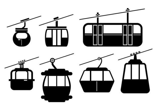 Cable Car Vector - бесплатный vector #378605