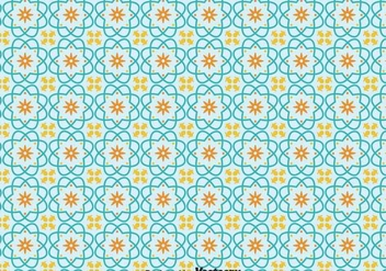 Portuguese Tiles Pattern - Free vector #378625