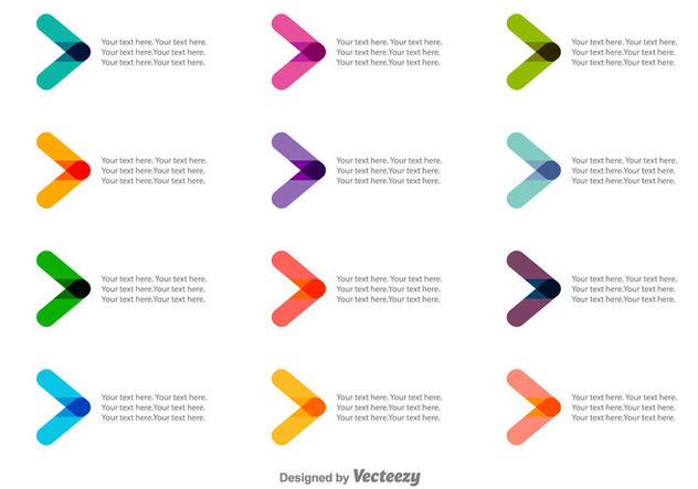 Vector Colorful Bullet Points Free Vector Download 378855 | CannyPic