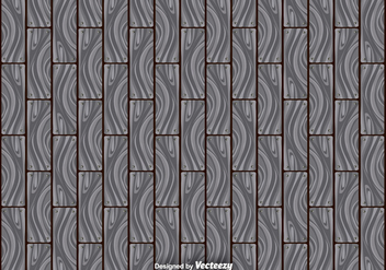 Abstract Gray Hardwood Planks Seamless Pattern - Free vector #378865