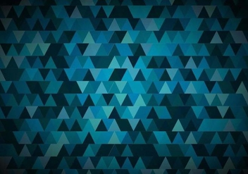 Free Vector Blue Geometric Backlground - Free vector #379285