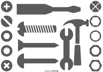 Vector Tool Shapes - vector #379425 gratis