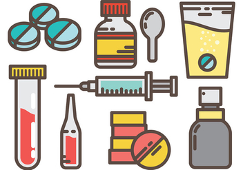 Free Medical Vector Icons - vector gratuit #379485