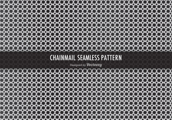 Free Chainmail Vector Seamless Pattern - Free vector #379525
