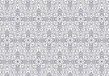 Dark Outline Pattern - vector gratuit #379555