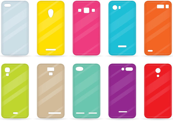 Colorful Cases - vector gratuit #379585