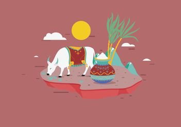 Pongal Vector - Free vector #380185