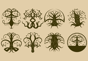 Free Celtic Tree Vector - vector #380195 gratis