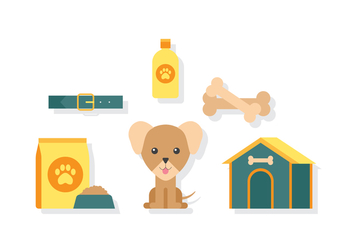 Vector Dog Pet - vector #380395 gratis