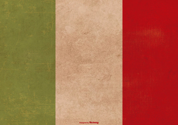 Grunge Flag of Italy - Free vector #380405