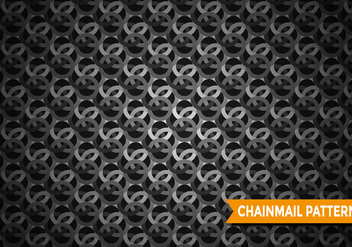 Chainmail Pattern Vector - Free vector #380635