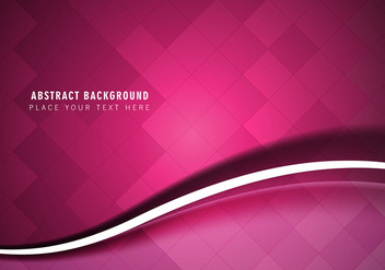 Free Vector Abstract Wave Background - vector #380785 gratis