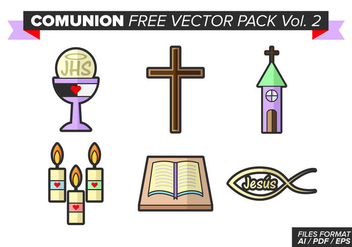 Comunion Free Vector Pack Vol. 2 - vector gratuit #380955
