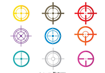 Colorful Laser tag Vector - vector gratuit #380975