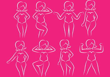 Plus size icons - Free vector #381385