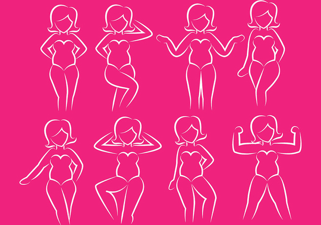 Plus size icons - Kostenloses vector #381385