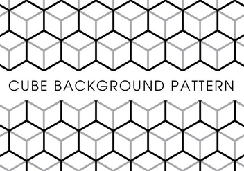 Cube Background Pattern - vector gratuit #381475