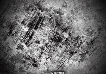 Scratched And Grungy Concrete Wall Texture - Free vector #381595