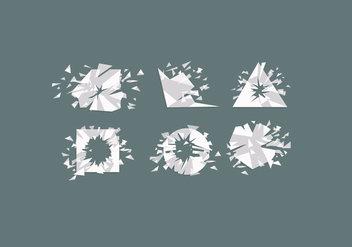 Shatter Vector - Free vector #381705