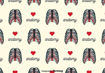 Rib Cage Background Vector - Free vector #381865