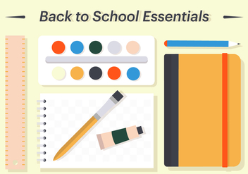 Free Back To School Vector Illustration - vector #382555 gratis