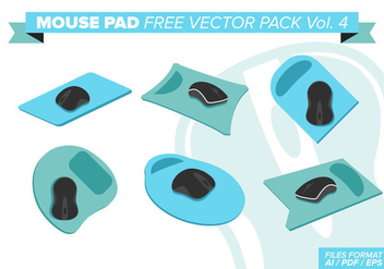Mouse Pad Free Vector Pack Vol. 4 - бесплатный vector #382605