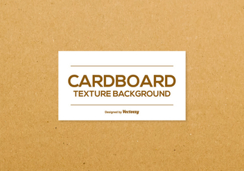 Cardboard Texture Background - vector #383245 gratis