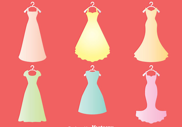 Bridesmaid Collection Vector - бесплатный vector #383575