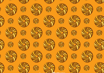 Bagel Pattern Background - vector gratuit #383665