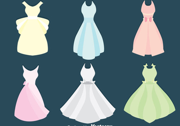 Wedding Bridesmaid Vector - Kostenloses vector #383685