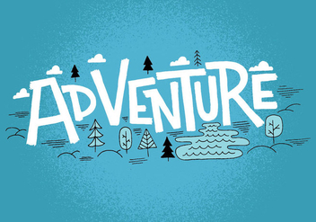 Adventure Landscape Design - Free vector #383725