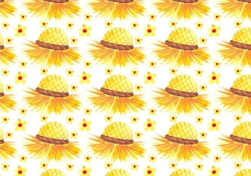 Free Vector Junina Hat Background - Free vector #383935