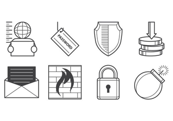 Free Cyber Crime Icon Vector - Free vector #384175