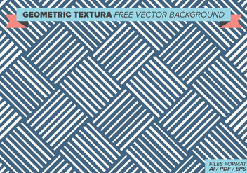 Geometric Textura Free Vector Background - vector #384315 gratis