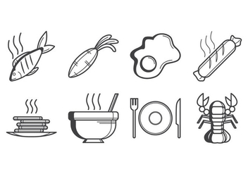 Free Food Icon Vector - Kostenloses vector #384445