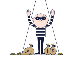 Free Thief Vector - Free vector #384465