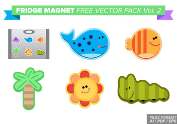 Fridge Magnet Free Vector Pack Vol. 2 - vector #384475 gratis