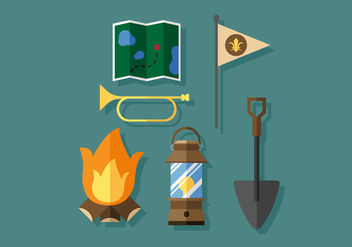 Vector Boy Scouts Tools - vector #384515 gratis