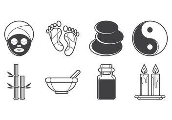 Free Spa Icon Vector Pack - vector gratuit #384715