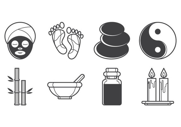 Free Spa Icon Vector Pack - Free vector #384715
