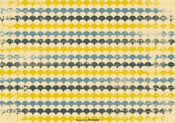 Retro Grunge Pattern Background - vector gratuit #385045