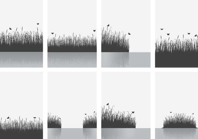 Cattails Background - Free vector #385295